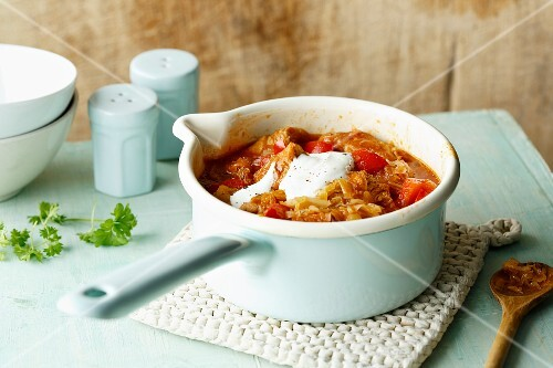 Segedin turkey goulash