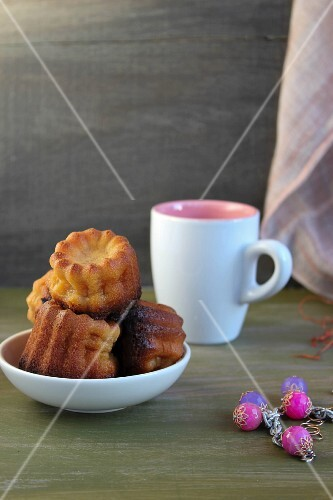 A bowl of canneles