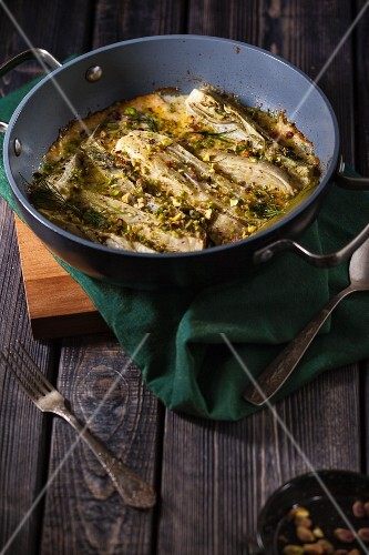 Baked fennel with Parmesan cheese