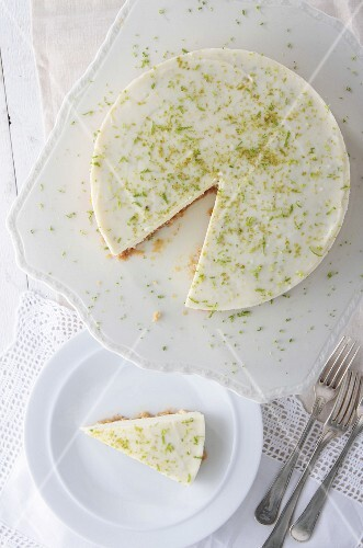 Key Lime Pie, sliced
