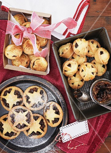 Mince pies as a gift