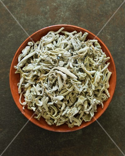 Dried wild sage from Crete