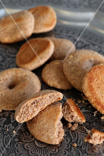 Peanut biscuits (Morocco, North Africa)