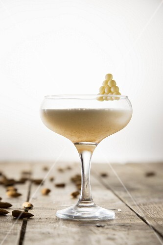 An almond cocktail