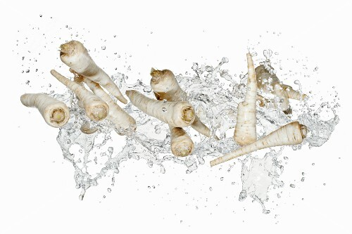 Parsnips with a splash of water