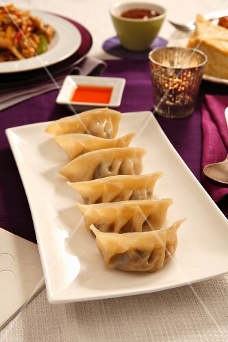 Chinese shu mai dumplings