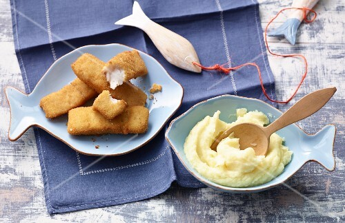 Fish fingers for children