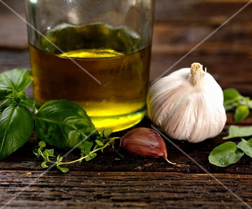 Ingredients for Italian herb dressing