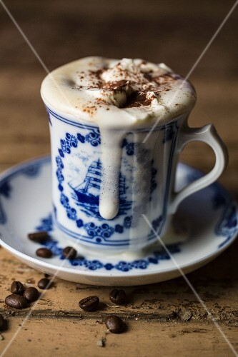 Pharisäer (coffee with sugar, rum and whipped cream, Northern Frisia)