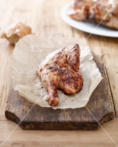 Grilled spring chicken