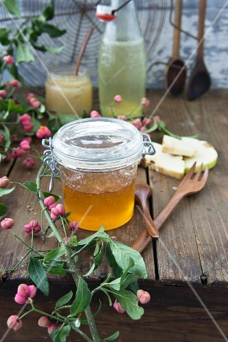 Quince jam with Cognac