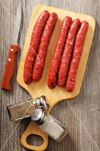 Fresh Merguez (North African minced meat sausages)