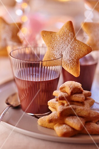 Hot chocolate and sables for Christmas