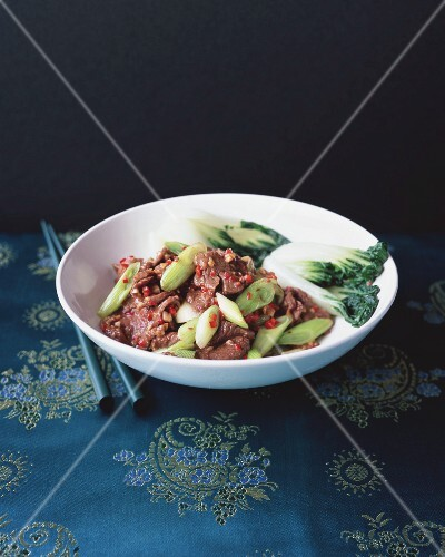 Hunan beef with cumin (China)