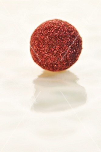Chocolate-raspberry truffle