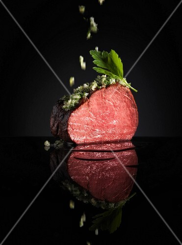 Beef fillet with herbs