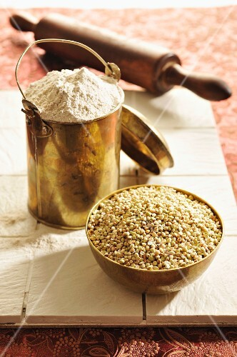 Buckwheat and buckwheat flour