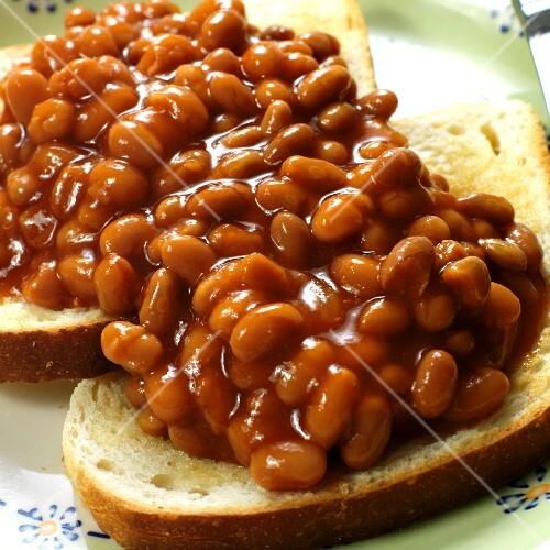 Beans+On+Toast Baked beans on toast – StockFood