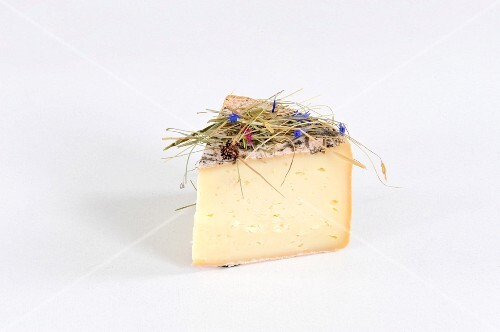 Fienoso (speciality cheese from South Tyrol, Italy made with milk from pasture fed cows)