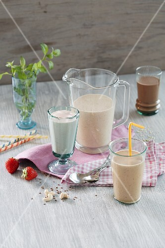 Nut smoothies