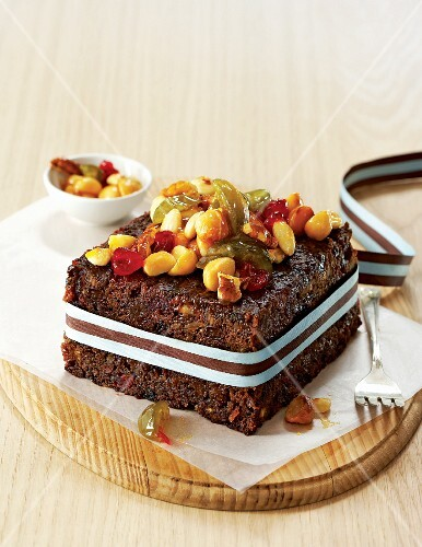 Fruit cake for Christmas