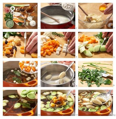 How to prepare Hamburg eel soup