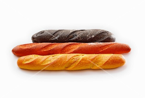 Baguettes – black, red and gold