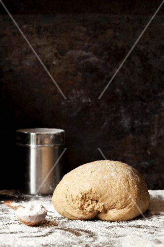 A ball of dough for coffee bread