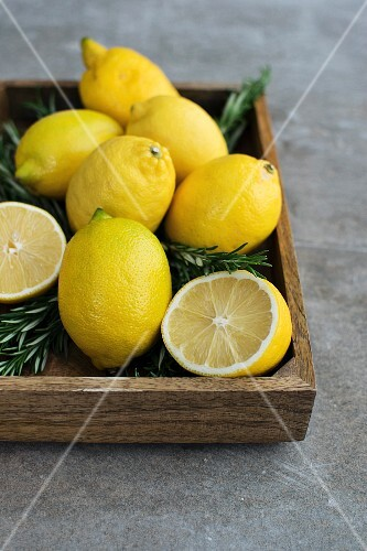 Lemon Rosemary Nature Morte