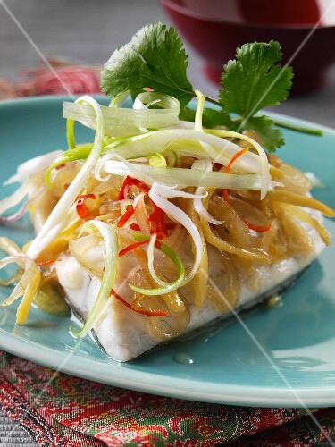 Malaysian steamed fish