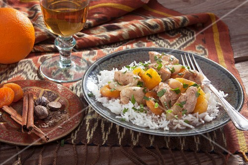 Persian chicken and rice