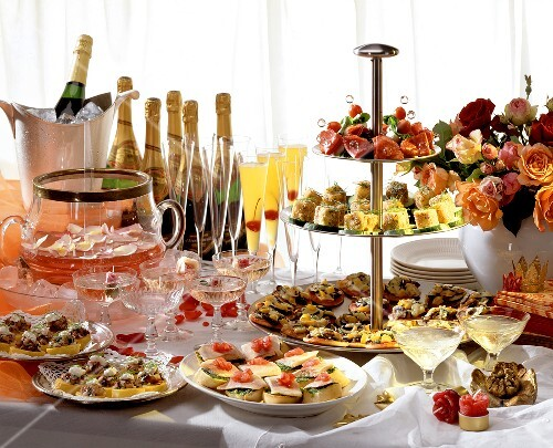 Cocktail Buffet at a Party