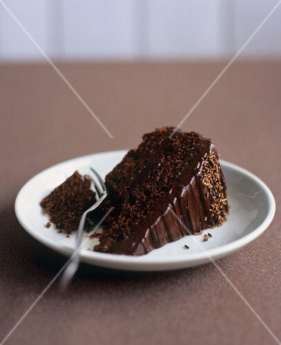 Chocolate fudge cake (UK)