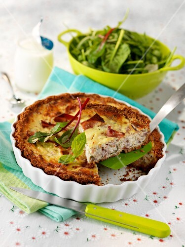 Savoury cheese tart
