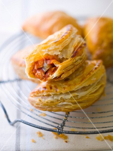 Ratatouille mini turnovers