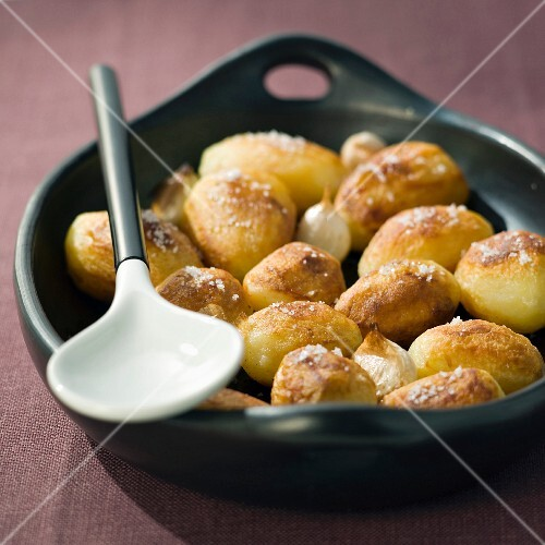 Potatoes with shallots