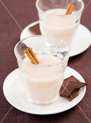 Horchata (a refreshing drink made from tigernuts, Spain)