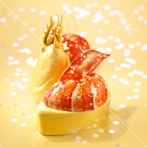 Golden leaf lobster