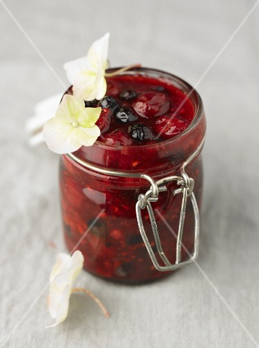 Summer fruit jam