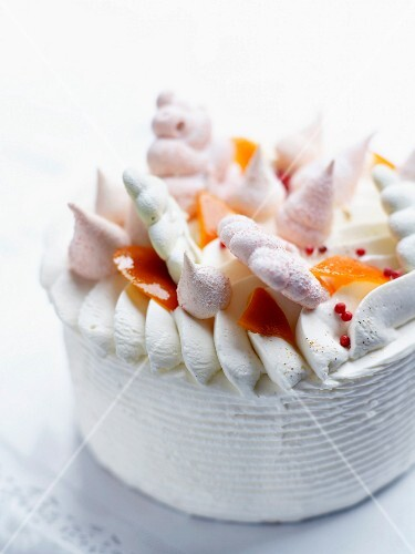 Vacherin ice cream cake by Christophe Felder