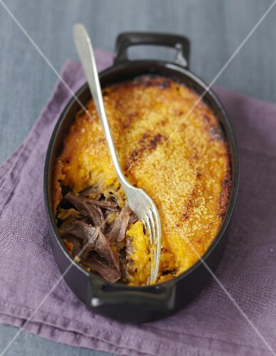 Duck confit and sweet potato cottage pie