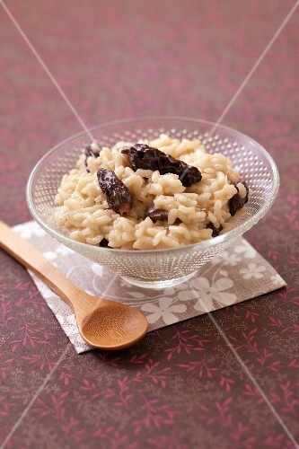 Risotto with morels and parmesan