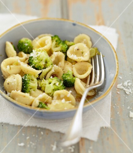 Orecchiette with broccolis