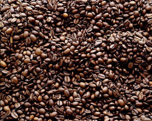 kaffeebohnen bildf llend bild kaufen 633493 stockfood. Black Bedroom Furniture Sets. Home Design Ideas