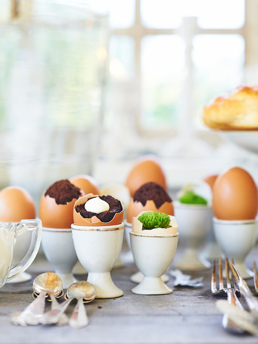 Creative with Eggs