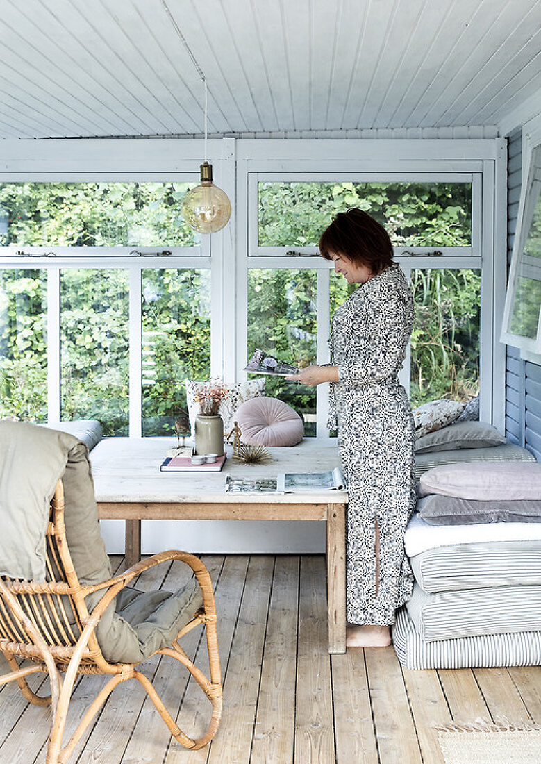 Dreamy Recycling Summerhouse at Rikke