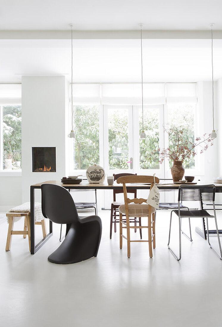 A home full of warm tones