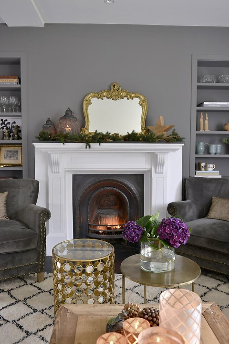 Scandinavian Christmas with a touch of Glam