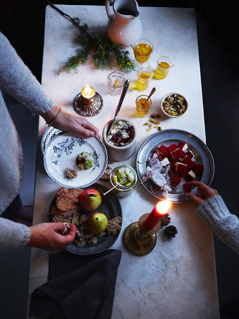 Christmas Food Mingle