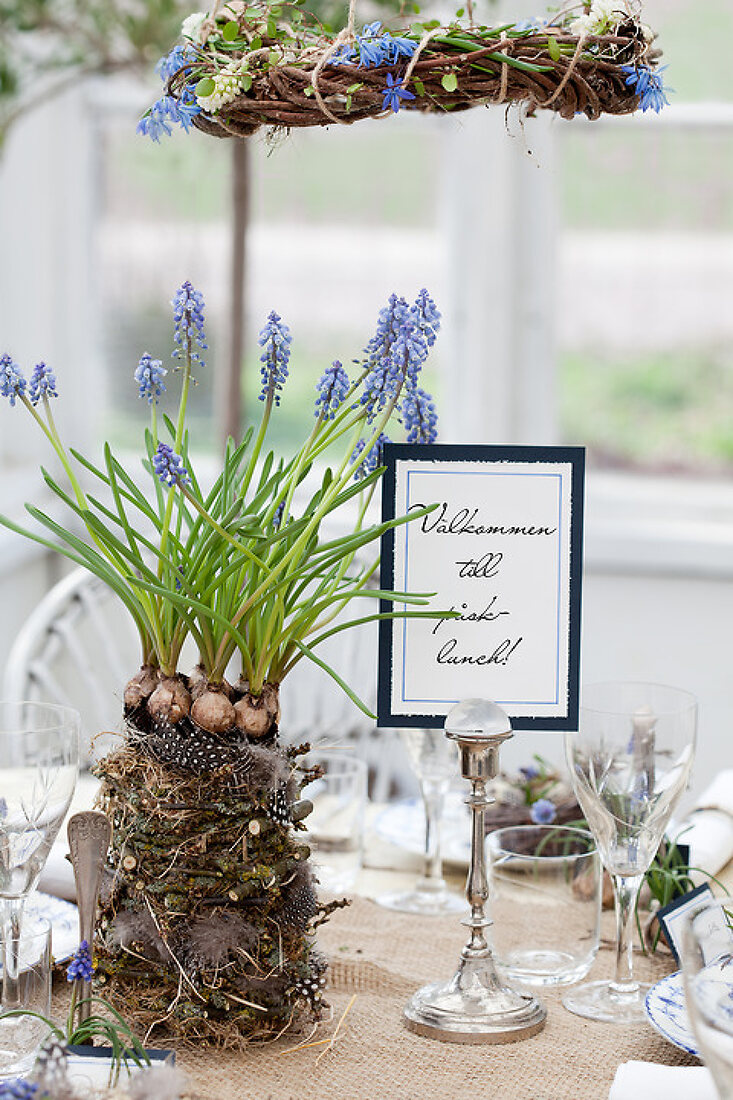 A Decorative Easter Table